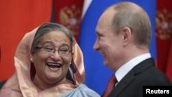 رییس جمهوری روسیه و نخست وزیر بنگلادش