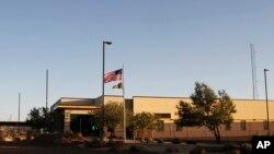 Stanica granične službe u Klintu u Teksasu, gde su, prema izjavama imigracionih advokata, deca imigranata držana u nehumanim uslovima.