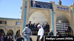 Talabani'nin Süleymaniye'deki Cenazesine Yoğun Katılım