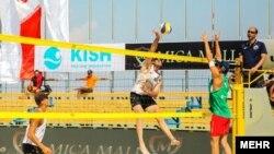 تور جهانی والیبال ساحلی در کیش