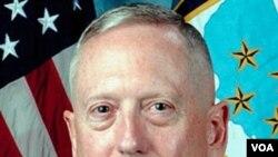 Pimpinan Komando Pusat Amerika Serikat, Jenderal James Mattis.