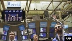 На Нью-йоркской фондовой бирже. 7 мая 2010 года