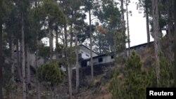 بالاکوٹ کے نزدیک پہاڑ پر واقع ایک مدرسے کی عمارت جہاں بھارتی فضائیہ نے حملے میں سینکڑوں عسکریت پسندوں کو ہلاک کرنے کا دعویٰ کیا تھا۔