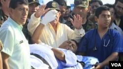 El cabecilla del grupo Sendero Luminoso fue detenido y según autoridades del gobierno tiene heridas de gravedad.