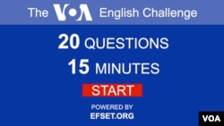 VOA English Challenge