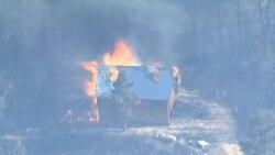 В Колорадо продолжают бушевать лесные пожары