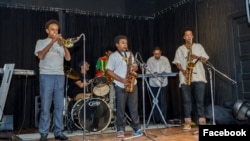 Young Ethio-jazz ባንድ አባላት