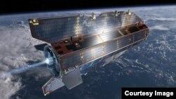 유럽에서 운영해온 탐사용 위성 '고체(GOCE)'의 이미지 사진. 유럽우주청(ESA) 제공.