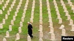Цвинтар міста Халабджа в Іракському Курдистані