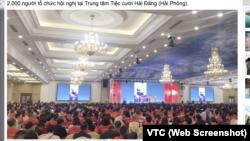 Hơn 2.000 du khách Trung Quốc xuất hiện tại trung tâm tiệc cưới lớn nhất Hải Phòng vào ngày 20/12/2019.