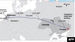 Todas las 298 personas a bordo del vuelo MH17, derribado el año pasado sobre el este de Ucrania, perecieron.