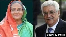 PM Hasina, President Abbas