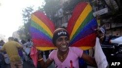 Гей-парад в Мумбаи. 29 января 2011 года