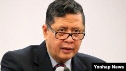 마르주끼 다루스만 유엔 북한인권특별보고관. (자료사진)