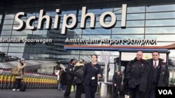 L'aéroport d'Amsterdam-Schipho, 26 décembre 2009.