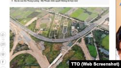 Dự án tuyến cao tốc Trung Lương - Mỹ Thuận.