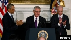 Defense Secretary Chuck Hagel Resigning