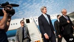 美国国务卿克里1月2日抵达以色列