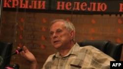 Директор НИИ транспорта и дорожного хозяйства Александр Сарычев