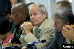 In 2011, Nicholas Kay, then Special Envoy of United Kingdom for Sudan, attended a United Nations meeting in Darfur.