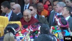 Pemimpin spiritual Tibet, Dalai Lama tiba di Washington, D.C (Foto: dok).