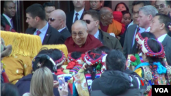 The Dalai Lama Arrives in Washington, D.C