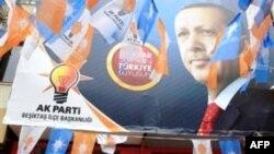 Bích chương cổ động bầu cử ở Thổ Nhĩ Kỳ