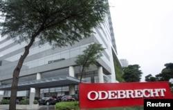 Kantor pusat Odebrecht, di Sao Paulo, Brazil, 19 Juni 2015. (Foto: dok).