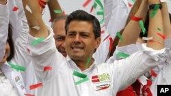 革命制度黨候選人培尼.涅托。