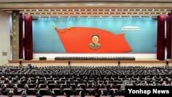 北韓在平壤慶祝金正日生日。