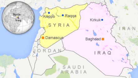 ការវាយប្រហារតាមអាកាសរបស់ក្រុមចម្រុះចាត់ទីដៅលើពួករដ្ឋអ៊ីស្លាមនៅក្រុង Raqqa។