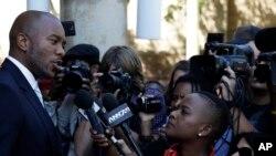 Mmusi Maimane, arongoye umugambwe Democratic Alliance, utavugarumwe n'ubutegetsi muri Afrika y'Epfo