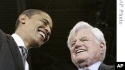 奥巴马和肯尼迪不同寻常的友谊