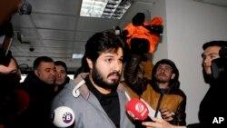 رضا ضراب تاجر ایرانی-ترکیهای که به اتهام دور زدن تحریمهای ایران در ایالات متحده در بازداشت است - آرشیو
