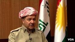 Tổng thống vùng tự trị Kurdistan của Iraq Massoud Barzani.