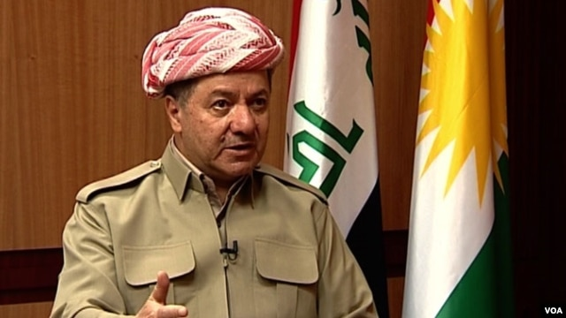 Kurdish President Massoud Barzani talks to VOA's Persian service in an exclusive interview.