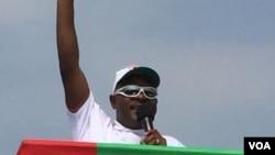 Le président sortant du Burundi, Pierre Nkurunziza