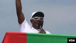 Pierre Nkurunziza, président sortant du Burundi