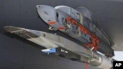 美國軍方測試的X-51飛機(資料圖片)