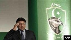 Cựu Tổng thống Pakistan Pervez Musharraf tại London nhân dịp phát động đảng mới của ông, Thứ Sáu 1 Tháng 10, 2010