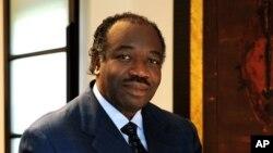 Le président sortant gabonais Ali Ben Bongo Ondimba