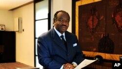 Le président gabonais Ali Ben Bongo Ondimba