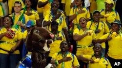 Abanywanyi b'umugwi w'umupira w'amaguru, w'igihugu ca Gabon.