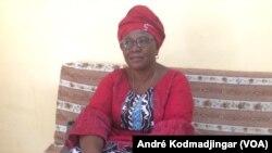 Mekonbé Thérèse, présidente de l'association des Femmes juriste du Tchad, à N'Djamena, au Tchad, le 10 novembre 2018. (VOA/André Kodmadjingar)