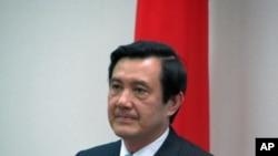台灣總統馬英九。