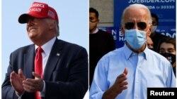 Donald Trump û Joe Biden