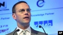 James Murdoch, mundur sebagai pemimpin perusahaan BSkyB.