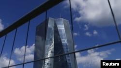 位於德國法蘭克福的歐洲中央銀行。