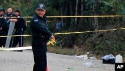 """FOTO ARCHIVO - Según la agencia de noticias AFP, """"La primera fosa fue localizada el sábado""""."""