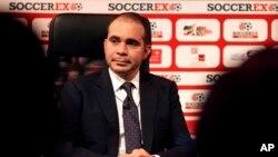 El príncipe Ali de Jordania aspira a ser el próximo presidente de la FIFA.